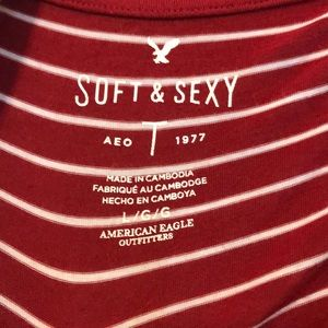 American Eagle Outfitters Tops - Long Sleeve American Eagle Soft & Sexy Shirt